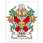 Bodkin Coat of Arms Small Poster