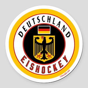 Germany Hockey(Deutschland) Round Car Magnet