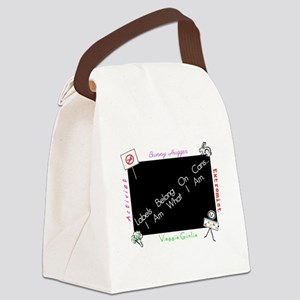 LabelsR4Cans Canvas Lunch Bag