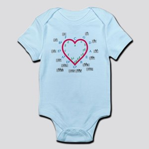 The Heart of Fifths Infant Bodysuit