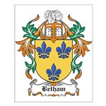 Betham Coat of Arms Small Poster