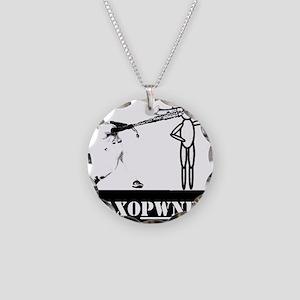 Saxopwned! Necklace Circle Charm