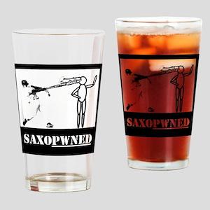 Saxopwned! Drinking Glass