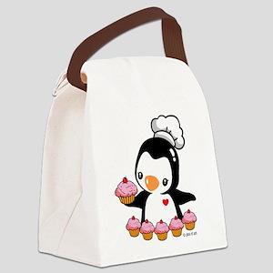 Bake a Cupcake Canvas Lunch Bag