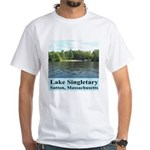 Lake Singletary White T-Shirt
