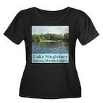 Lake Singletary Women's Plus Size Scoop Neck Dark