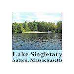 Lake Singletary Square Sticker 3