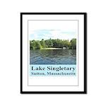 Lake Singletary Framed Panel Print