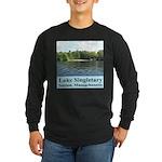 Lake Singletary Long Sleeve Dark T-Shirt