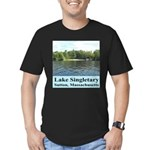Lake Singletary Men's Fitted T-Shirt (dark)