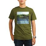 Lake Singletary Organic Men's T-Shirt (dark)