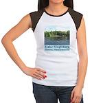 Lake Singletary Women's Cap Sleeve T-Shirt