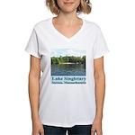 Lake Singletary Women's V-Neck T-Shirt