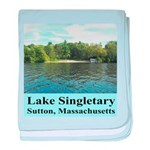 Lake Singletary baby blanket