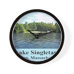 Lake Singletary Wall Clock