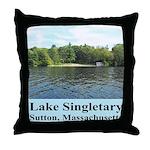 Lake Singletary Throw Pillow