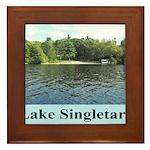 Lake Singletary Framed Tile