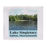 Lake Singletary Throw Blanket