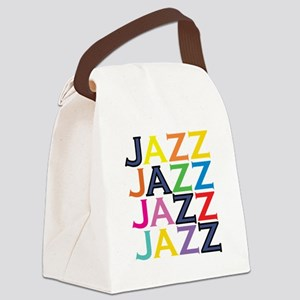 The Jazz Canvas Lunch Bag