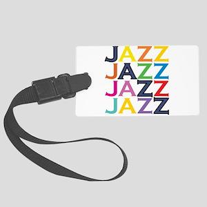 The Jazz Large Luggage Tag