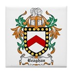 Beaghan Coat of Arms Tile Coaster