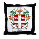 Bath Coat of Arms Throw Pillow