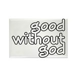Good Without God Rectangle Magnet (10 pack)