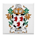 Barron Coat of Arms Tile Coaster