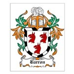 Barron Coat of Arms Small Poster