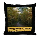 Purgatory Chasm Throw Pillow