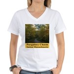 Purgatory Chasm Women's V-Neck T-Shirt
