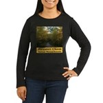 Purgatory Chasm Women's Long Sleeve Dark T-Shirt