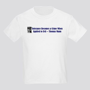 Thomas Mann on Tolerance Kids T-Shirt
