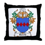 Bareth Coat of Arms Throw Pillow