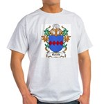 Bareth Coat of Arms Ash Grey T-Shirt