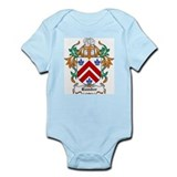 Bamber shield of arms baby Bodysuits