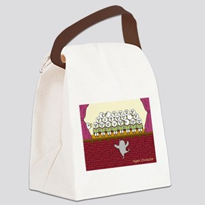 Hyper-Conductor Canvas Lunch Bag
