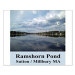 Ramshorn Pond Small Poster