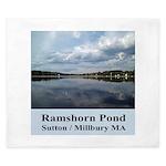 Ramshorn Pond King Duvet