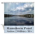 Ramshorn Pond Shower Curtain