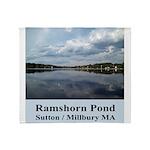 Ramshorn Pond Throw Blanket