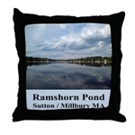 Ramshorn Pond Throw Pillow