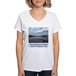 Ramshorn Pond Women's V-Neck T-Shirt
