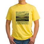 Ramshorn Pond Yellow T-Shirt
