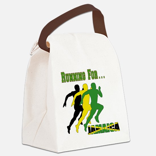 Jamaica Running Canvas Lunch Bag