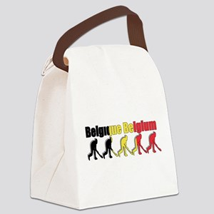 Belgium Field Hockey Canvas Lunch Bag