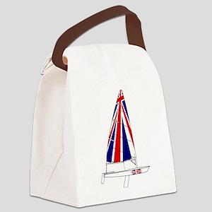UK Britain Dinghy Sailing Canvas Lunch Bag
