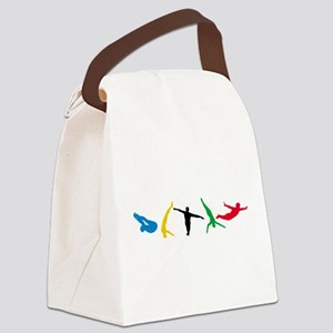 Diving Canvas Lunch Bag