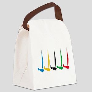 Sailing Regatta Canvas Lunch Bag