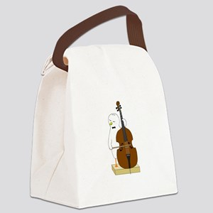 Double Bass Player Canvas Lunch Bag